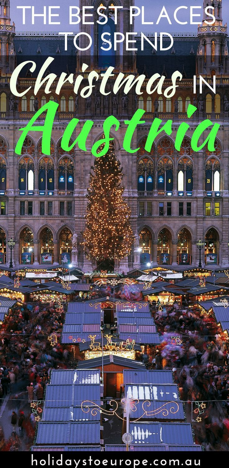 best places to spend christmas in austria europe travel inspiration pinterest countryside austria and destinations