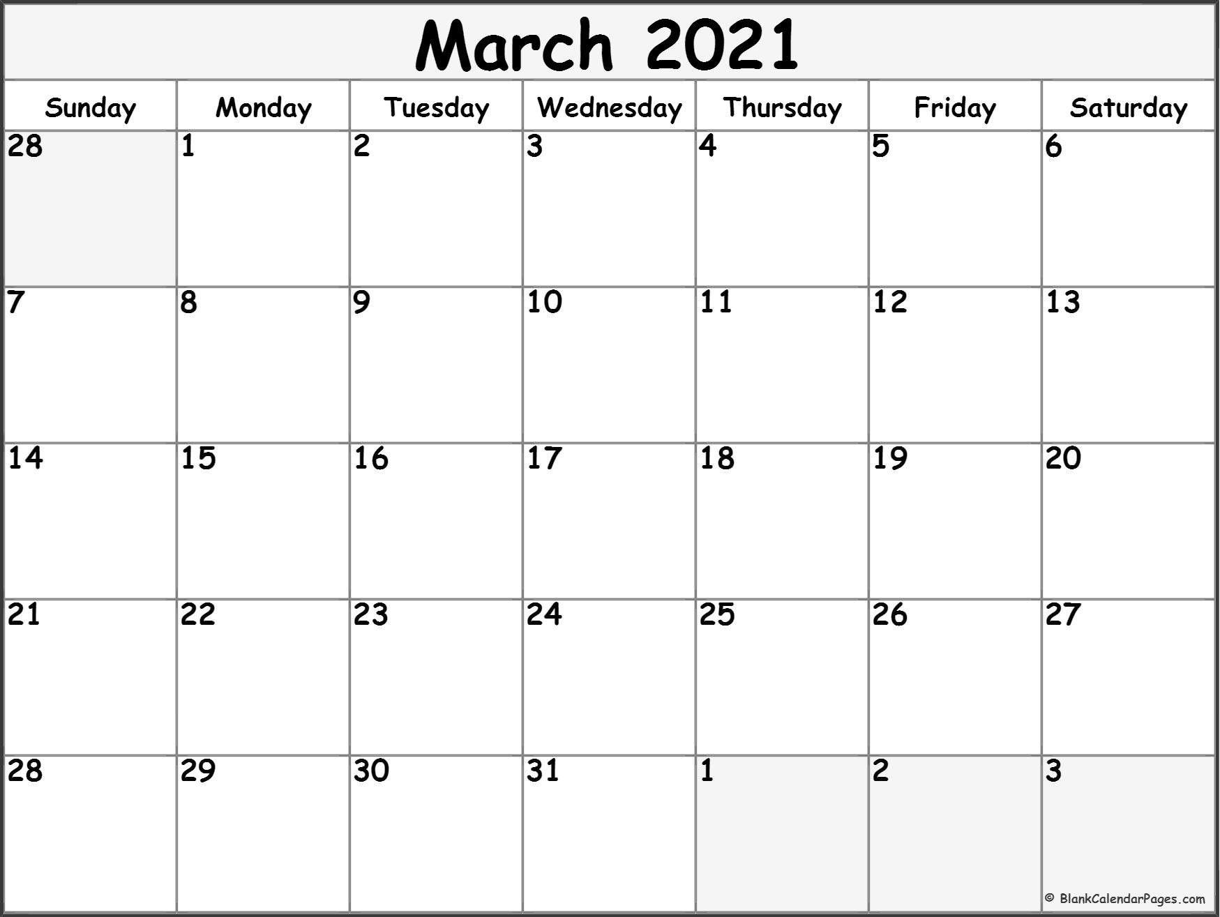 2021 Free Printable Calendar Pin on Nancy's Board