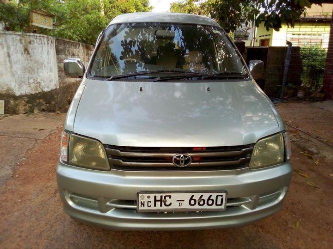 Van Toyota Townace CR41 For Sale Sri lanka  HC-xxxx,a/c,p/s