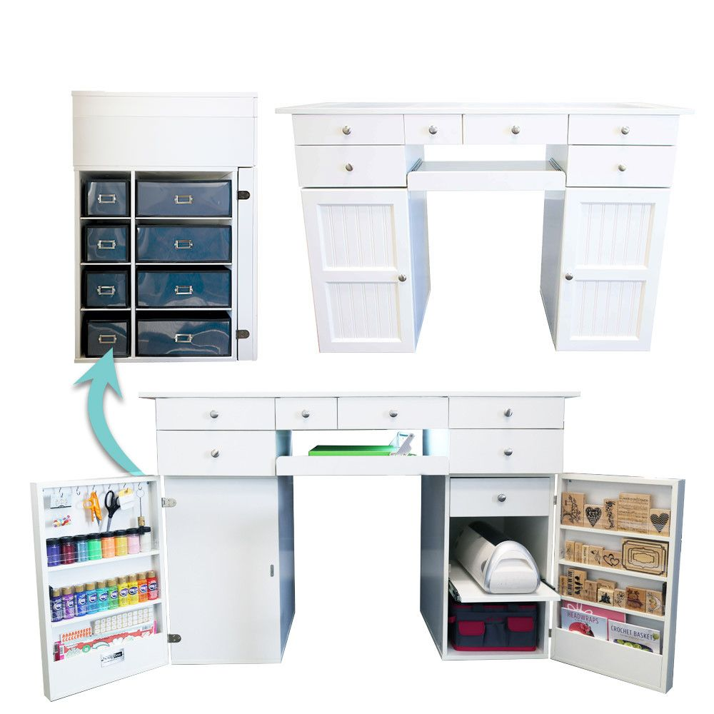 The Ez View Desk 2 0 Is For Everyone From Make Up Artists To Paper Crafters Who Love To Create Don 39 T Belie Furniture For Small Spaces Desk Craft Room Desk
