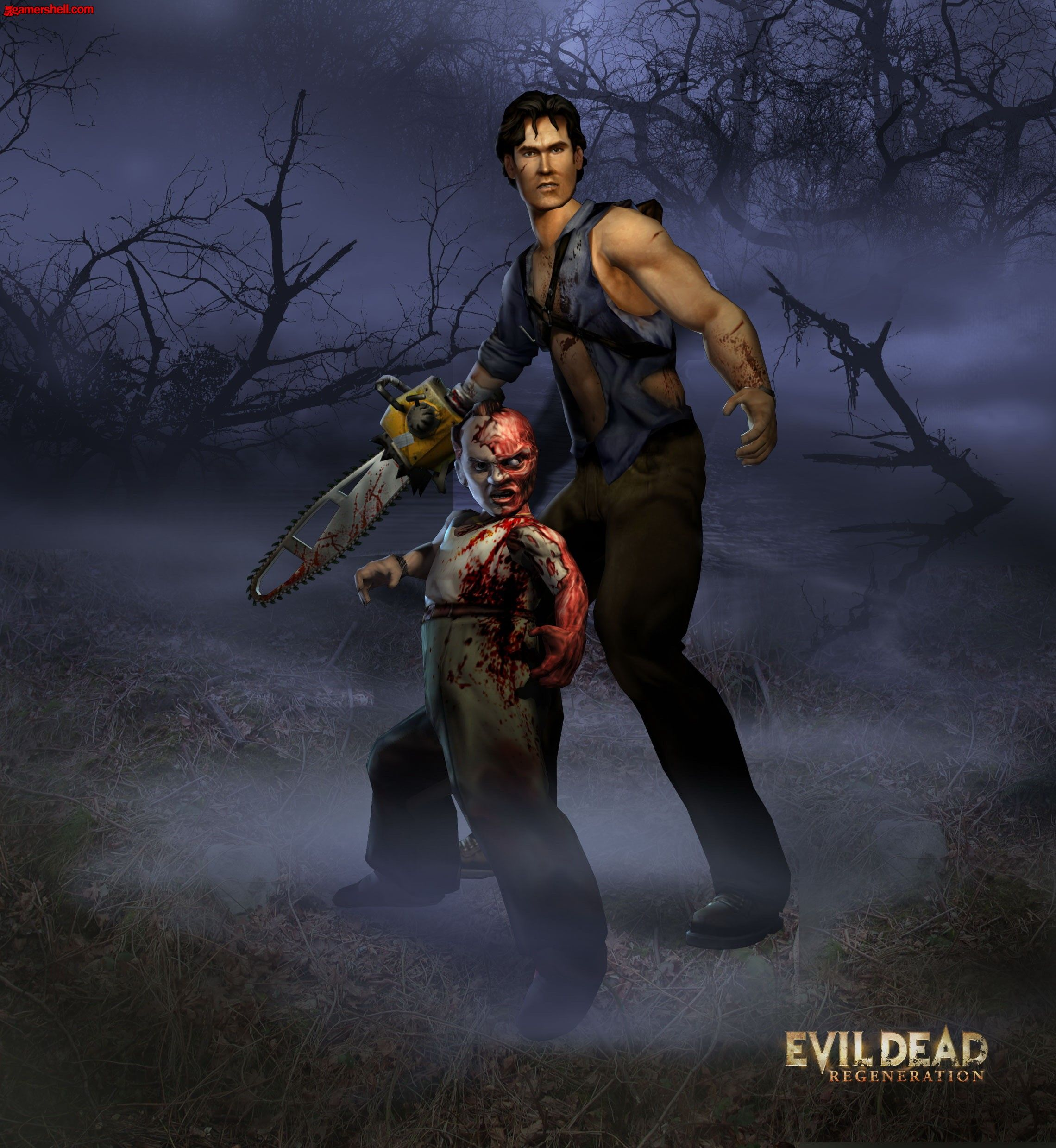 Download Evil Dead Regeneration Wallpaper Evil Dead Regeneration Ash Evil Dead Regeneration