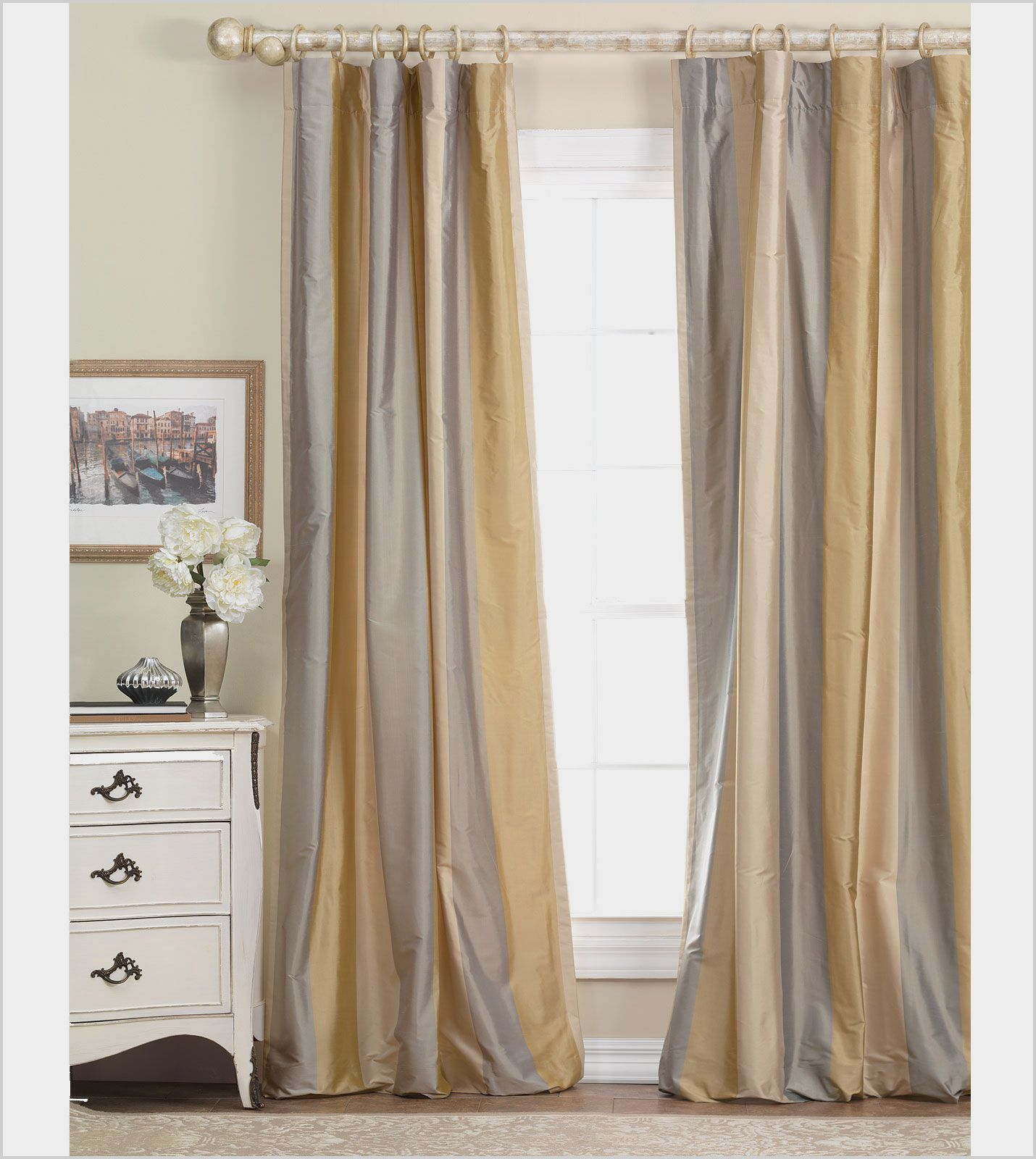 Gray White Gold Bedroom Curtains Gold Curtains Living Room Gold