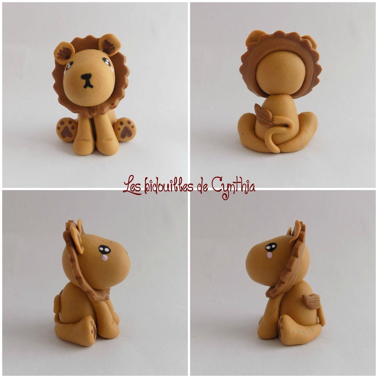 Lion en fimo lion en fimo pinterest lion fimo et animaux savane - Patte de lion ...