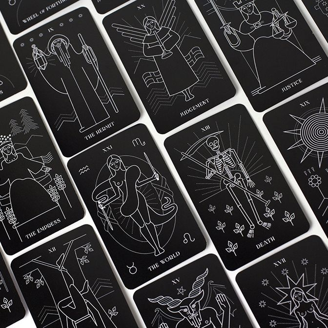 The Retro Deck Playing Cards By Pocono Modern Playing Cards Design Playing Cards Art Playing Cards