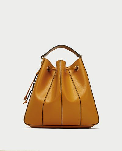 0b8324ede5 BUCKET BAG WITH TOPSTITCHING-SPECIAL PRICES-WOMAN