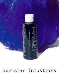 Special Effects Hair Color - Blue Velvet