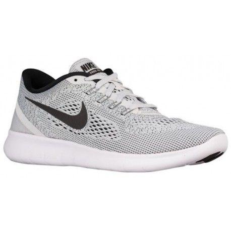 Nike Men's Free RN 2017 Running Shoe BlackWhiteDark GreyAnthracite Size 7