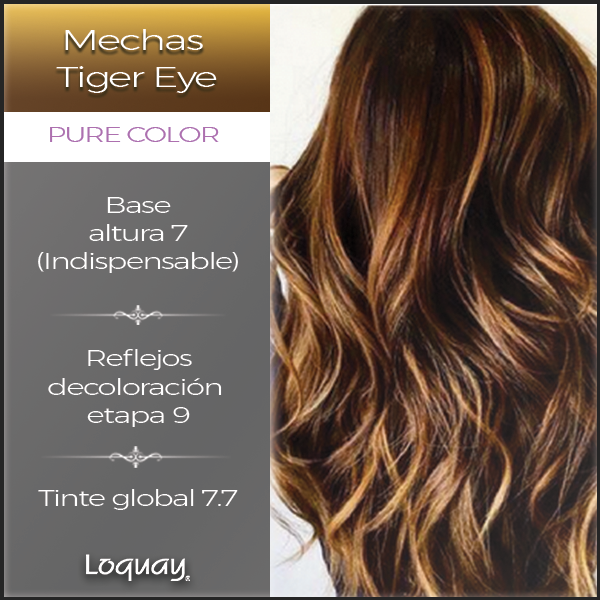 Tiger Eye Es El Nombre De Esta Tendencia De Color Para Mechas Californianas Te Dejamos Una Fórmula De Color P Hair Color Formulas Hair Color Trendy Hair Color