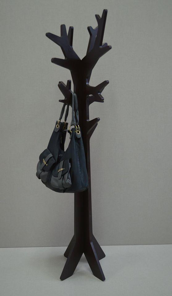 Black rack design cnc furniture perchero de pie - Percheros de pie zara home ...