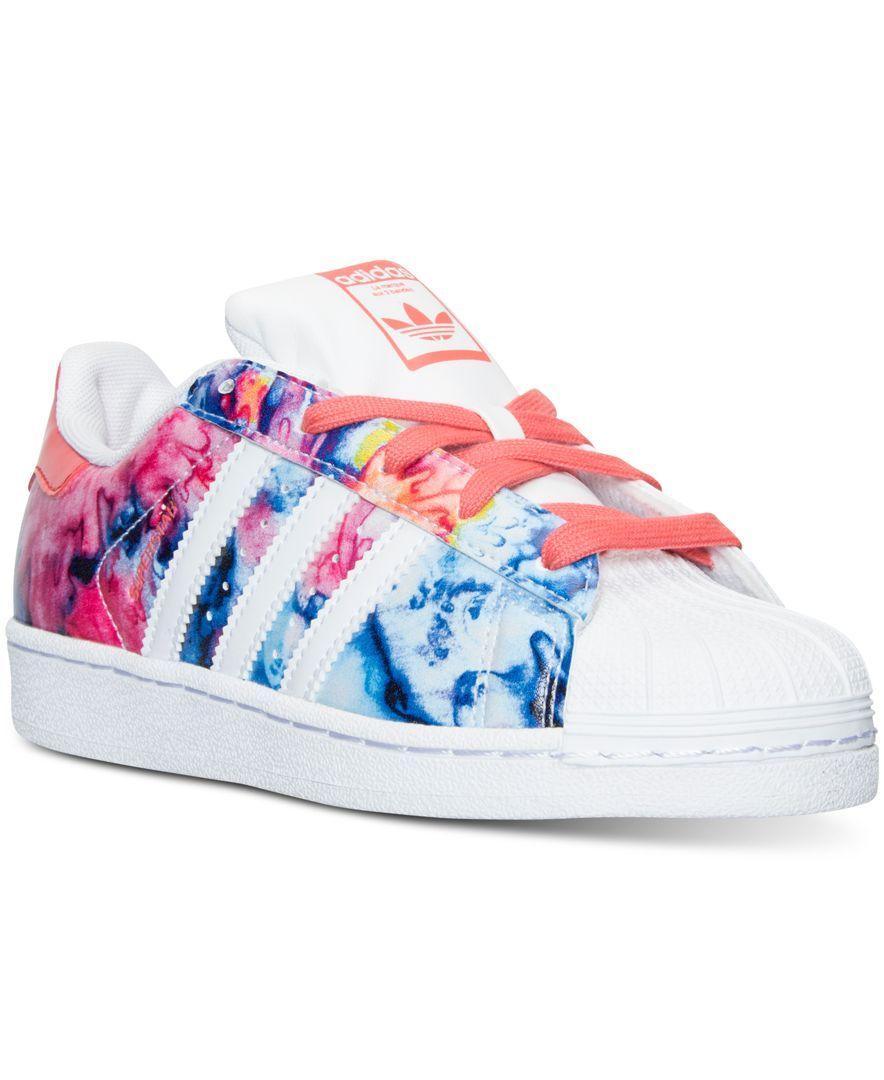 adidas Little Girls' Superstar Casual