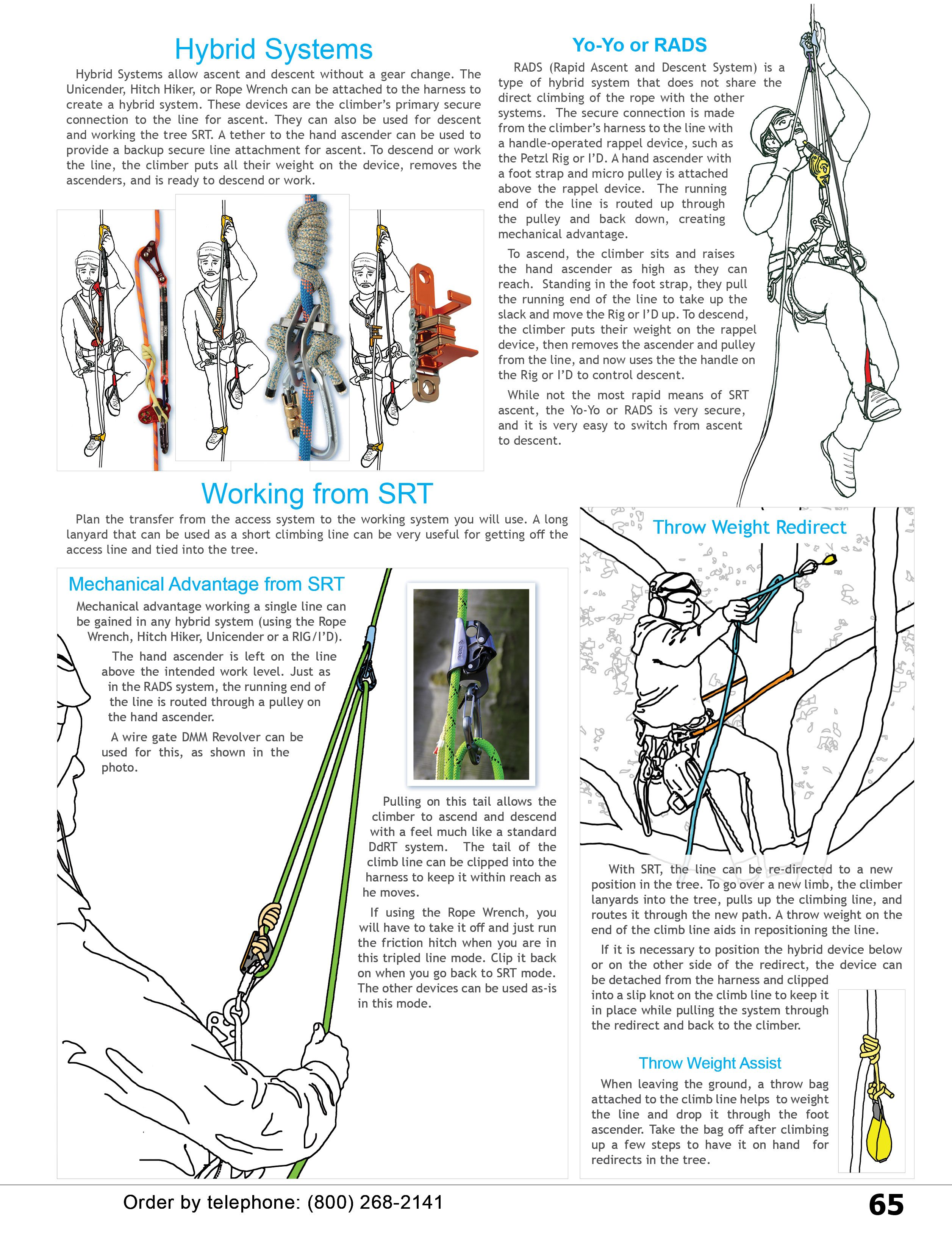 Single Rope Technique Hybrid Systems & Equipment from WesSpur Tree