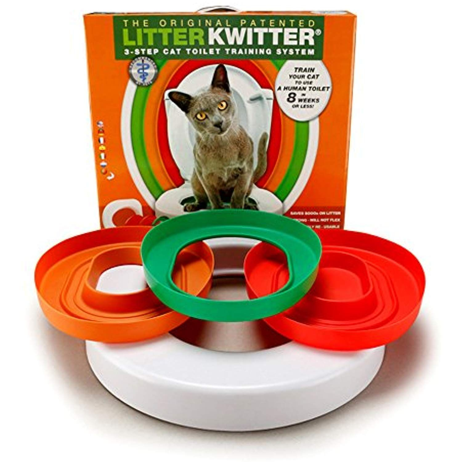 Hiltow Cat Toilet Training Kit To View Further For This Item Visit The Image Link This Is An Affiliate Link Cat Toilet Cat Toilet Training Cat Training