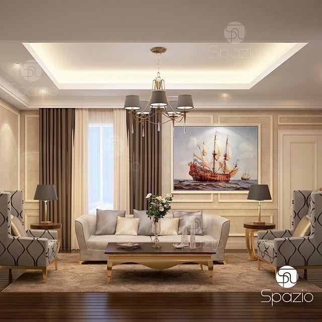 Contemporary Interior Design Dubai: Living Room Interior Design And Decor In Residential