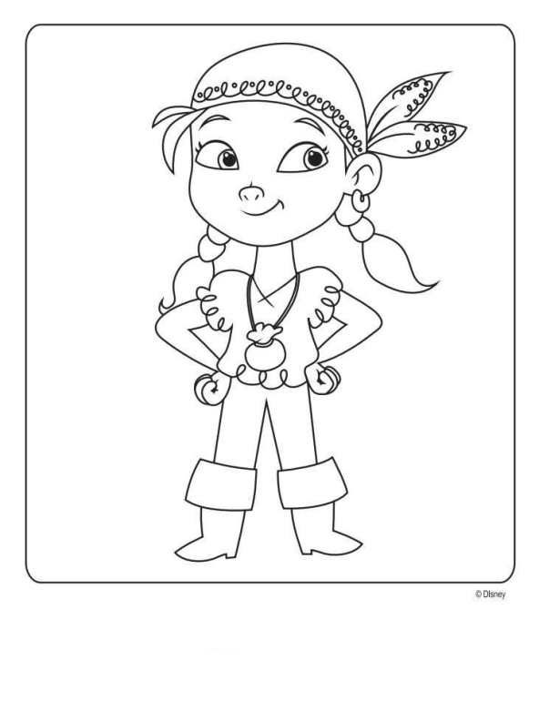 coloring page Jake and the Never Land Pirates - Jake and the Never ...