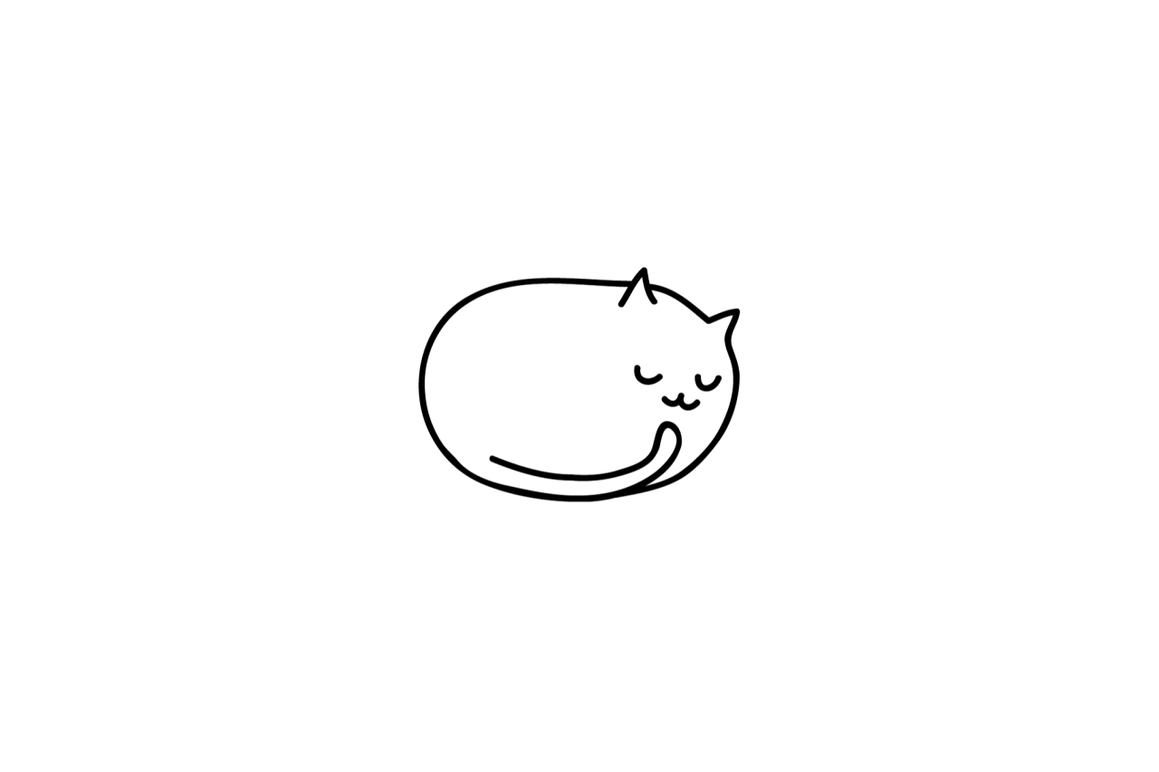 Easy Black And White Drawings Tumblr Google Search Black And White Drawing Cute Little Drawings Simple Cat Drawing