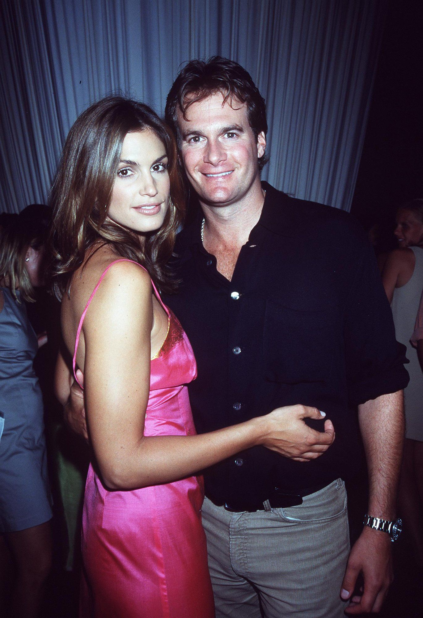 "Cindy Crawford and Rande Gerber - After the supermodel ended her marriage to Richard Gere, she tied the knot with nightlife giant Rande Gerber in 1998. Last year on their anniversary, Crawford wrote on her Instagram, ""17 years ago we decided to jump into life together. Happy anniversary, babe. I love you!"""