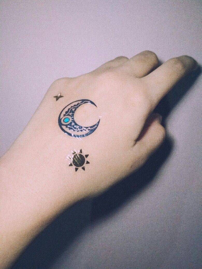cac31ad064c   do not edit   ig    tosca.rae  aesthetic  tumblr  tattoos  moon  star   sun  aesthetictattoos  aestheticmoon  sailormoon