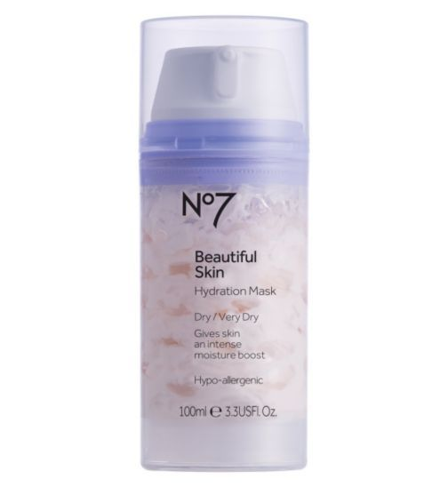 No7 Beautiful Skin Hydration Mask for Dry Very Dry Skin 100ml ...