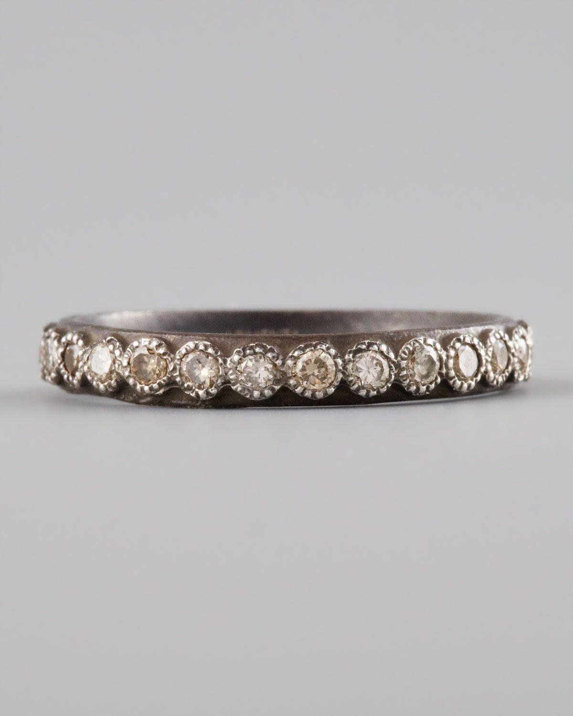 Armenta Diamond Band Ring 5zaUw