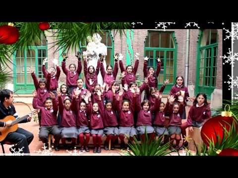 Villancico Vuela Vuela Colegio Ntra Sra De Las Delicias Youtube Villancico Tarjetas De Navidad Para Niños Navidad