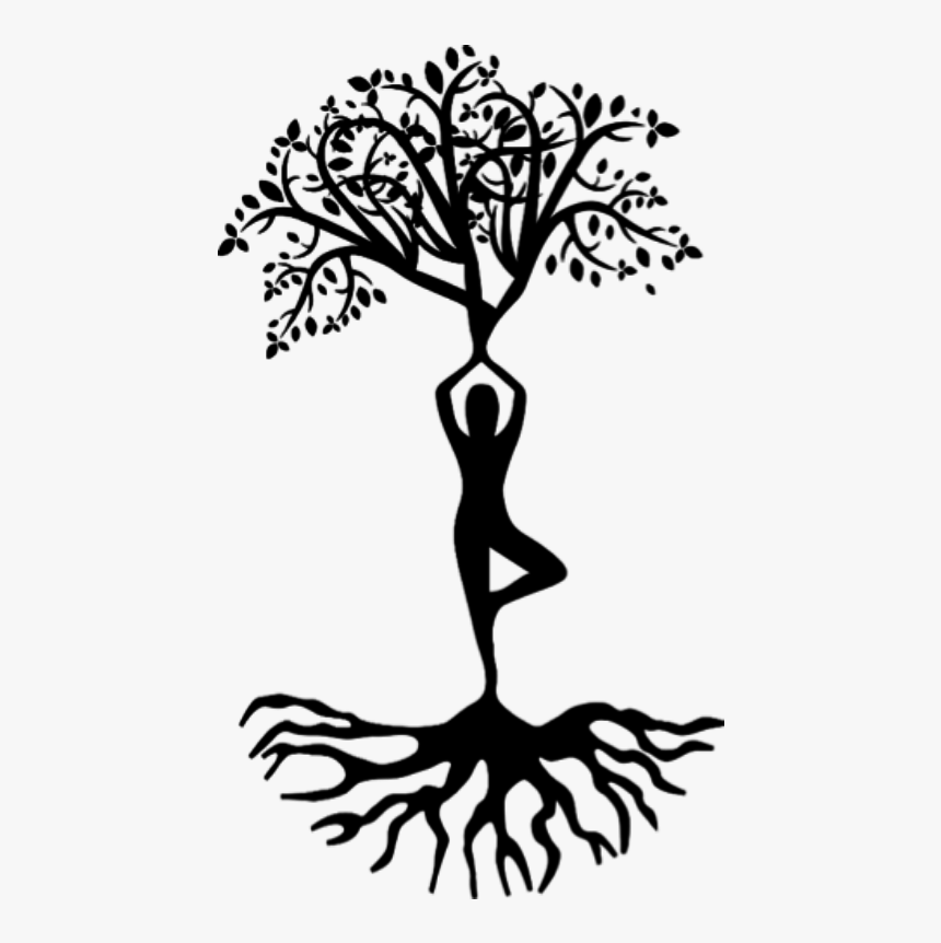 Transparent Tree Shadow Clipart Clipart Yoga Tree Pose Hd Png Download Is Free Transparent Png Image To Explore More Sim Yoga Tree Pose Yoga Tree Tree Pose