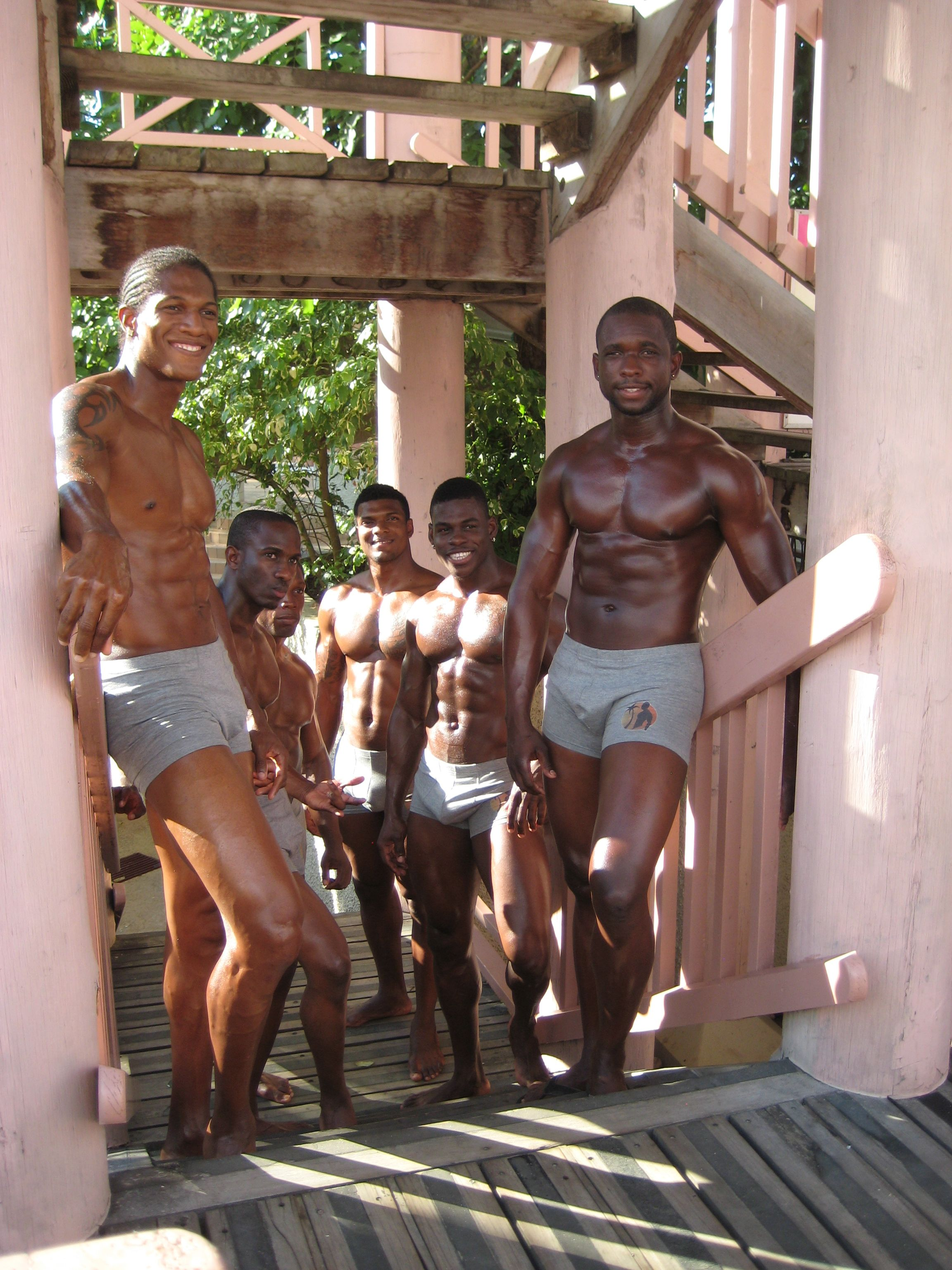 Mr Caribbean Contest 2013 At Hedonism Ii Resort Negril Jamaica