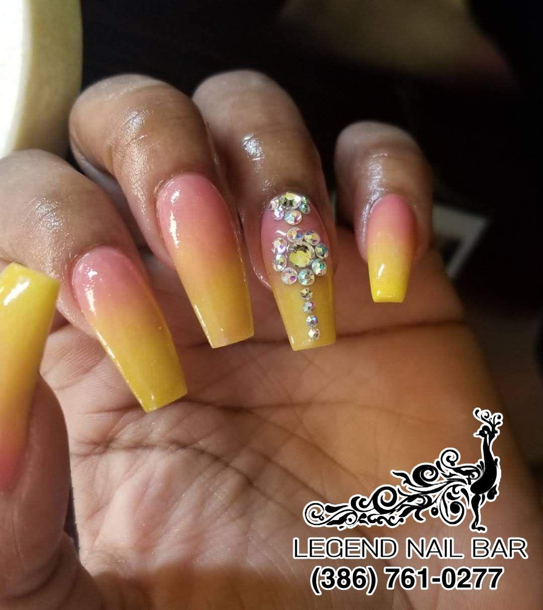 Legend Nail Bar Nail Salon In Port Orange Florida 32127 Nails Nail Bar Manicure