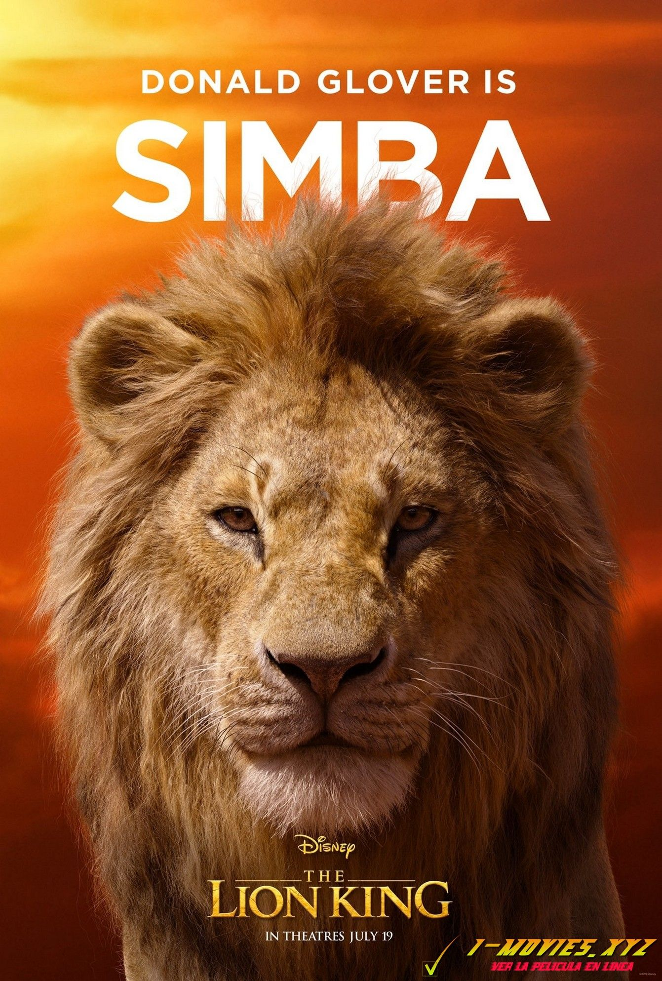 Ver El Rey León Película Completa Subtitulada En Español Latino Lion King Poster The Lion King Characters Lion King Movie