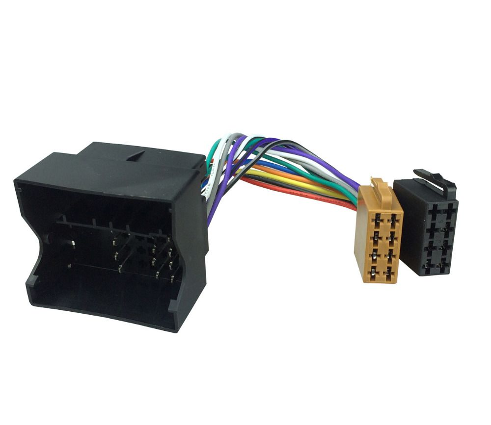 one iso wiring harness radio cable adaptor for bmw land rover rh pinterest com Speaker Wire Harness BMW M5 BMW Connectors Crimp