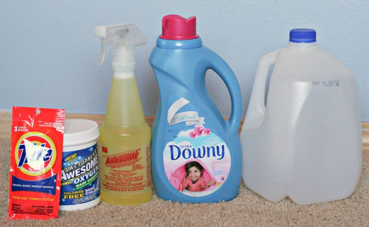 Easy Homemade Carpet Cleaning Solution for Machines! Secret formula that really works. Costs $1/Gallon - Gets the stains out!
