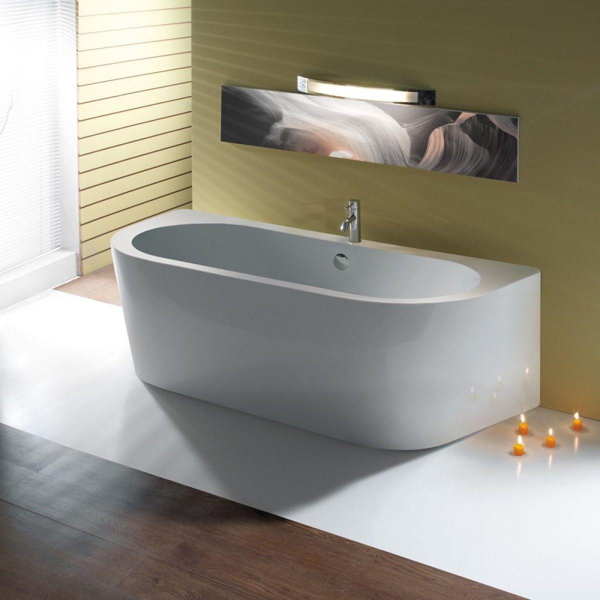 Bc Designs Ancora Back To Wall Bath 1640 X 760mm
