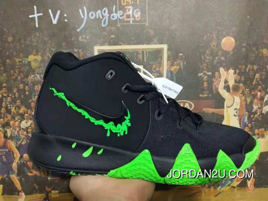 c5403a010a6a Nike Kyrie 4 Halloween Spooky Black Green Online