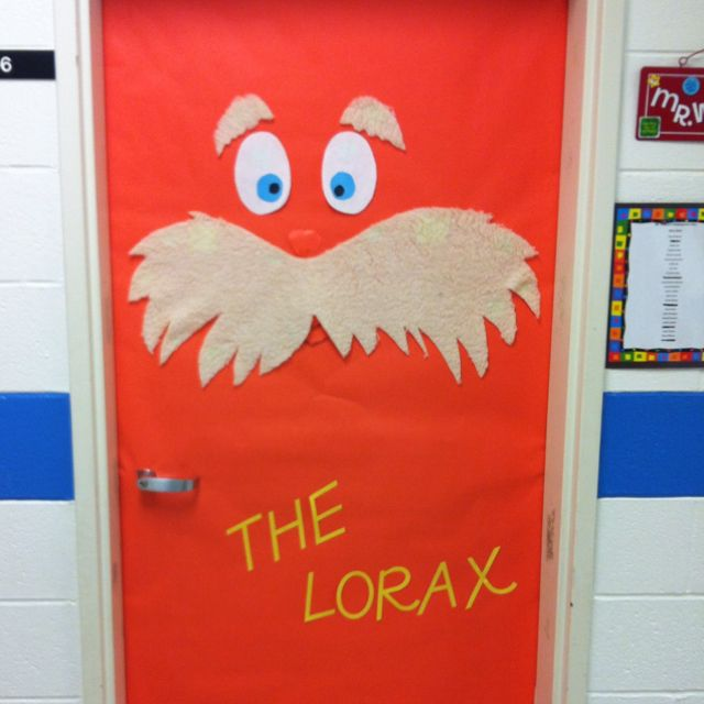 Lorax Classroom Decor : Classroom door decor the lorax pinterest