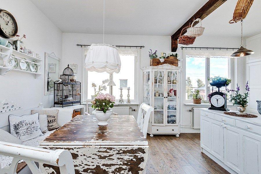 Stil Shabby Chic Intr Un Apartament De 72 M Dream House Shabby
