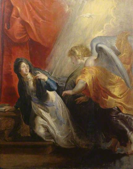Annunciation of the Virgin's Death
