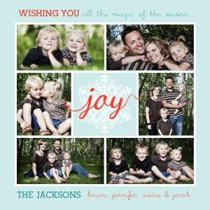 Mixbook Oh Joy Holiday Photo Cards