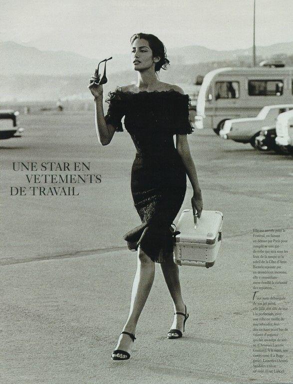 Yasmeen Ghauri by Jacques Olivar, 1995   Fashion Flashbacks ... 1a3318ca42d