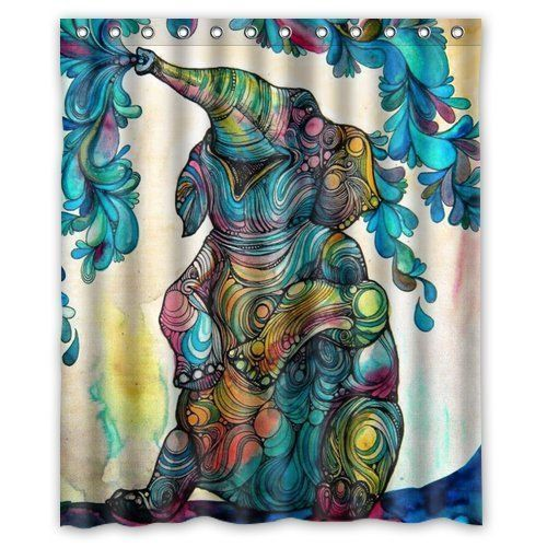 Window Treatments & Hardware 3d Peacock Feather 8 Shower Curtain Waterproof Fiber Bathroom Windows Toilet
