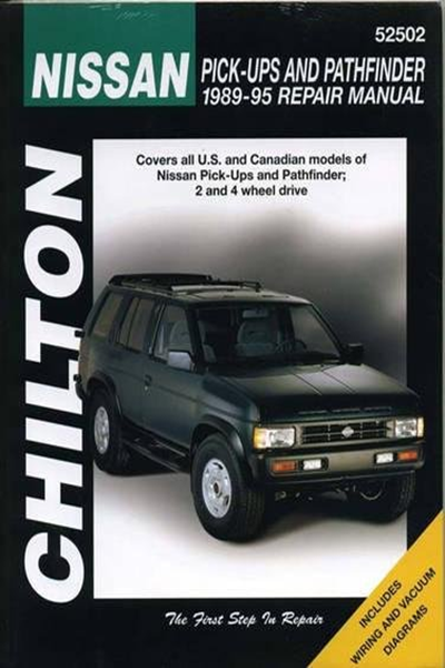 Nissan Pick Ups And Pathfinder 1989 95 Chilton Total Car Care Series Manuals By Chilton Cengage Learning Totaled Car Nissan Chilton