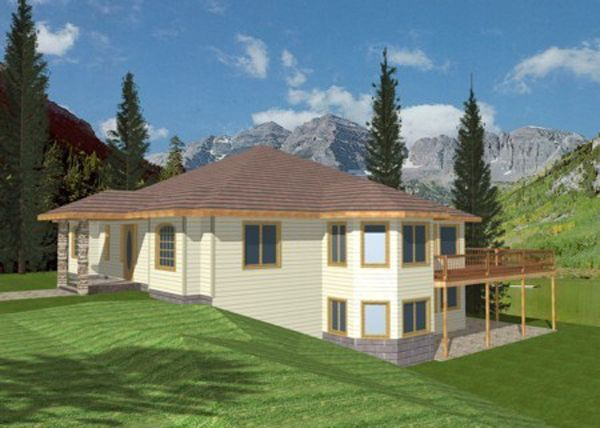 Hd Home Designs For Sloped Lots Nupe Free Hd Wallpapers House Plans House Design Adobe House