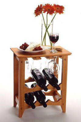 Botellero con tablero para 23/botellas de vino Basics