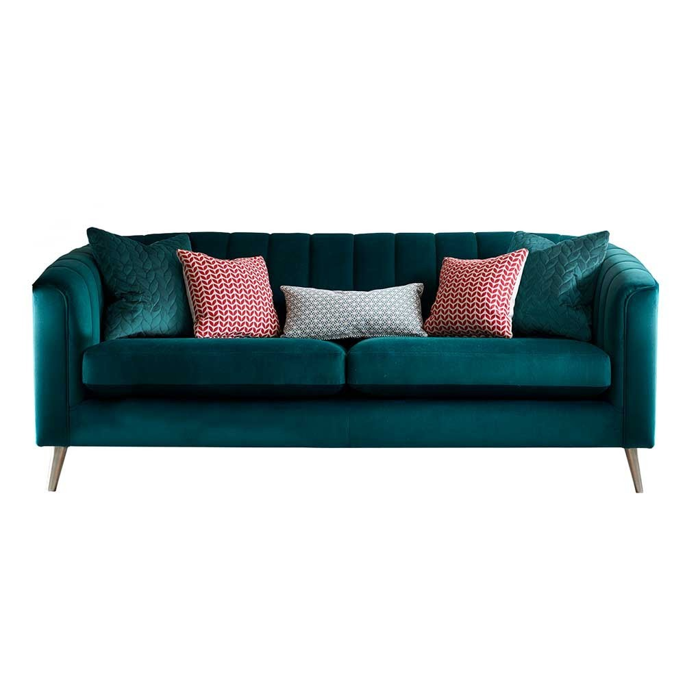 Portia Large Sofa Large sofa, Cushions on sofa, Sofa