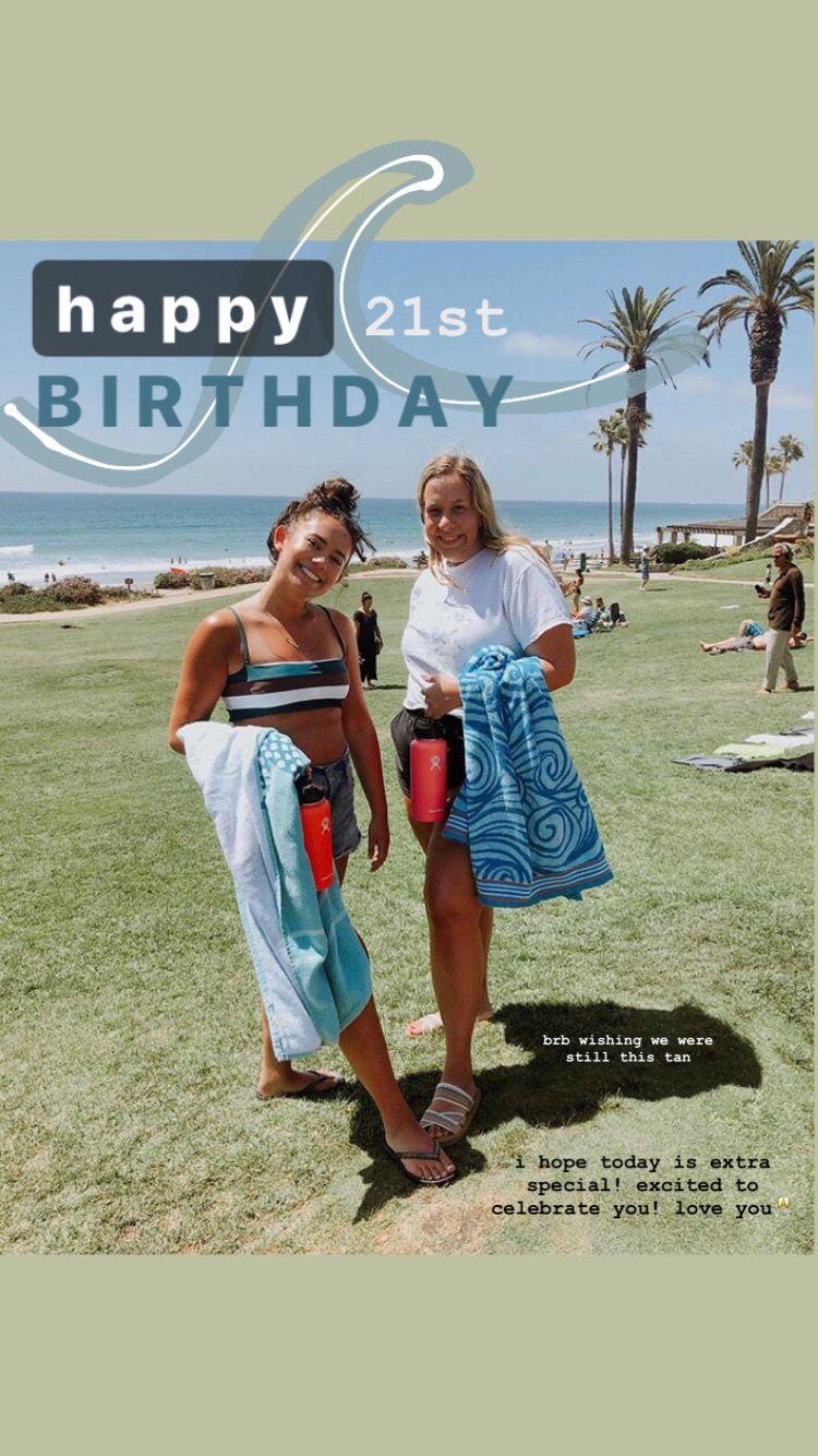 Birthday Beach Instagram Story In 2020 Creative Instagram