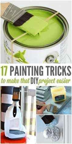 17 painting  tricks  to make  that  diy  project  easier  #lifestyle  #fitness