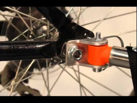 Connecting Your Bicycle Trailer Bolt On Hub Bike Trailer