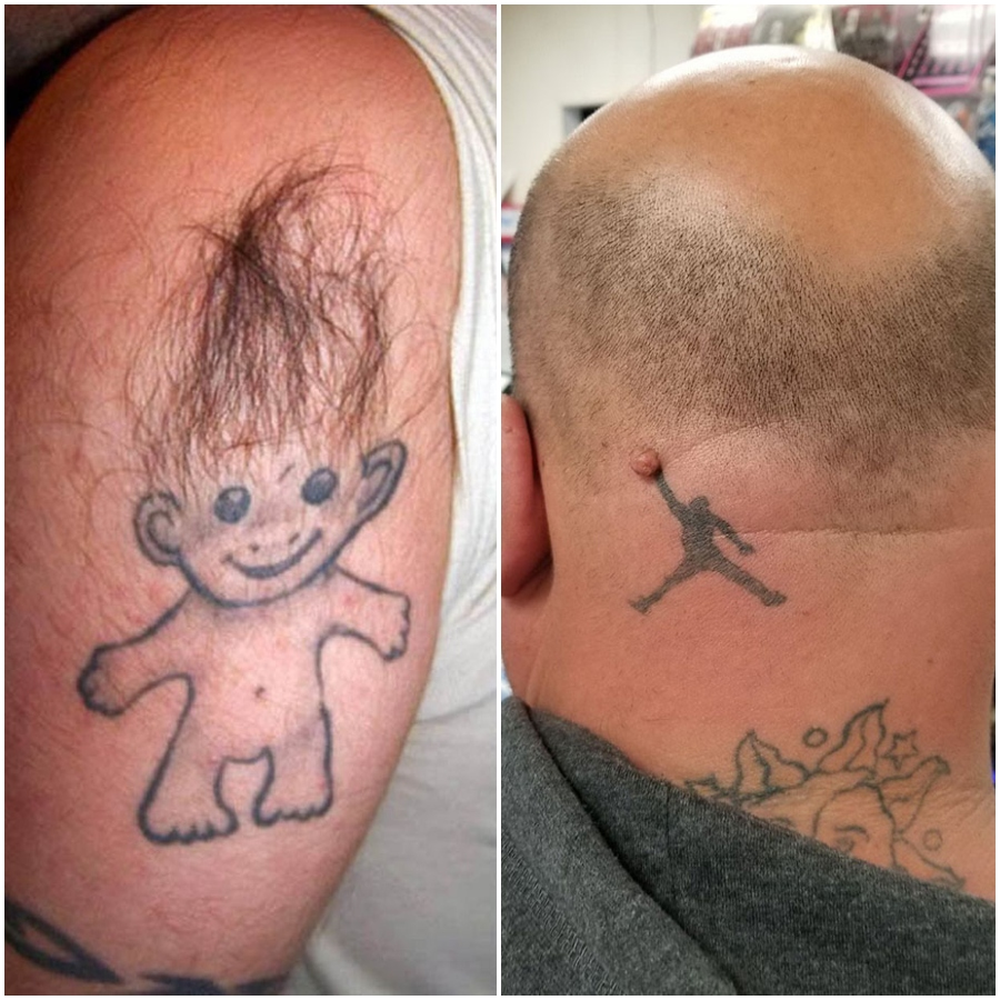 These tattoos are wrong in so many ways. ✨😝😜 Read more #tattoo #tattooed #tattoolife #tattooist #ink #inked #tattooaddict #tattooworld #tattoostyle #tattooing #tattoolovers #inkedlife #fails #failoftheday