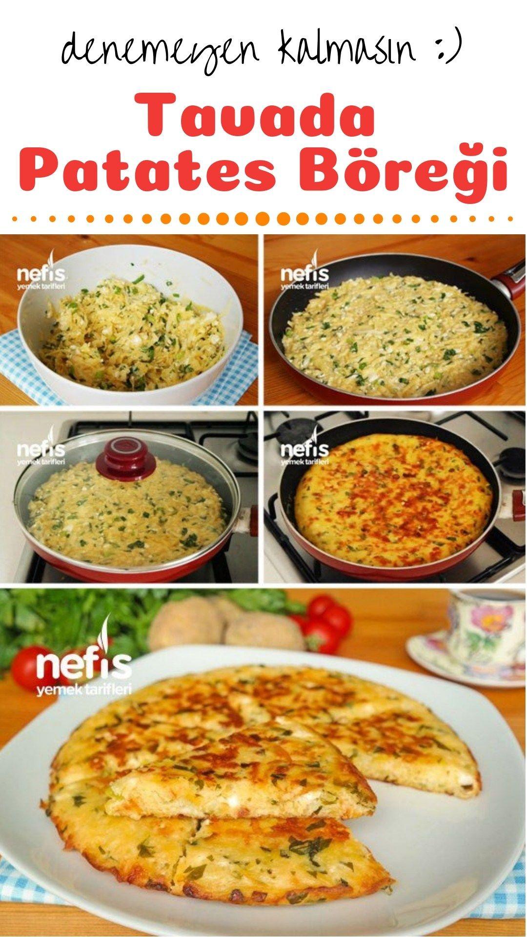 Farklı yemekler için farklı tavada patates tava nasıl