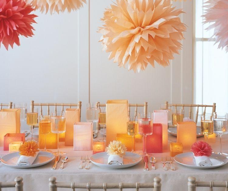 Windlichter Basteln   Tischdeko Zu Ostern Mit Sommer Flair