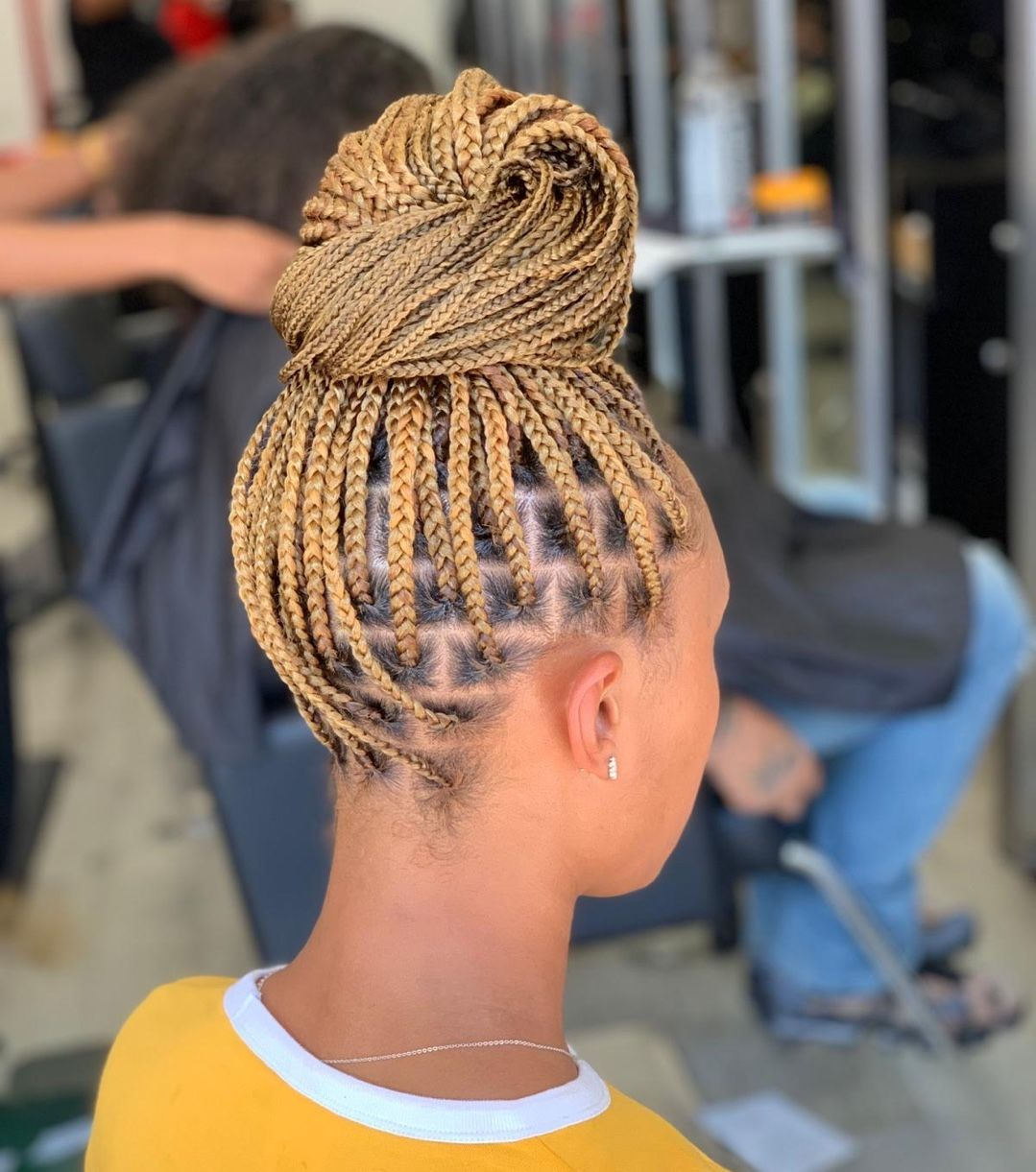 Stasha M Harris On Instagram Knotless Box Braids Have You Done Knotless Yet Braided Hairstyles Hair Styles Box Braids Hairstyles