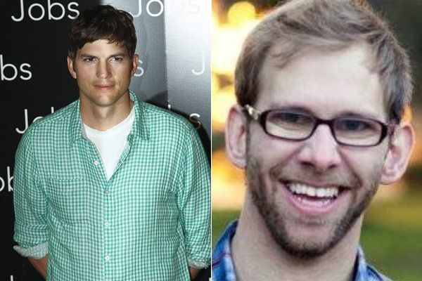 Ashton Kutcher And Fraternal Twin Brother Michael Celebrities